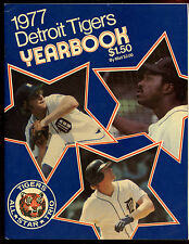 1977 Detroit Tigers MLB Baseball Yearbook EX+