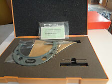 Mitutoyo Non-Rotating Blade Micrometer 75-100mm (0.01mm; 0.75mm Blade) 122-104