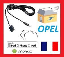 Cable Auxiliaire aux jack MP3 pour autoradios d'origine Opel + 2 cles extraction