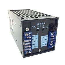 Power Supply Unit GPE100/12 Coutant 110/115VAC 12VDC GPE-100/12