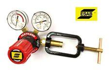 Riduttore di pressione acetilene ESAB G250 a 2 manometri per cannello