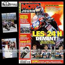 MOTO JOURNAL N°1468 SUZUKI VL 800 INTRUDER VOLUSIA VOXAN 24 HEURES DU MANS 2001