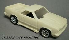 Resin HO scale chevy el camino fits tyco