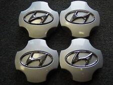 4 Nabenabdeckungen/Radkappen für Alufelgen von Hyundai