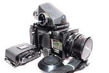 [EXC.+++] MAMIYA RB67 w/ Tested CDS Meter Prism Finder,SD Film Back,127mm F3.8