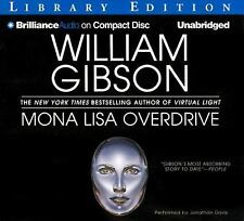 Mona Lisa Overdrive by William Gibson (2012, CD, Unabridged)