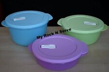 Tupperware Set  Crystalwave Microwave  Container  8,6,4 Cup  NEW !!!
