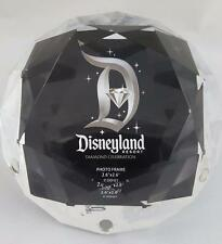 Disneyland 60th Anniversary Diamond Celebration Photo Frame Paperweight