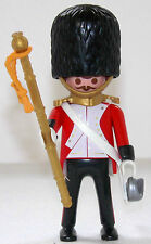 ROYAL GUARD MAJOR Playmobil zu Rotröcke Soldat 5581 4577 Garde Top Custom 1406