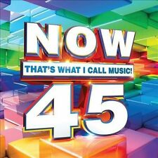1 CENT CD VA Now That's What I Call Music 45 one direction / capital cities
