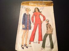 VINTAGE SIMPLICITY #8928 PATTERN FOR JUNIOR PETITE SIZE 9JP MINI DRESS OR TUNIC