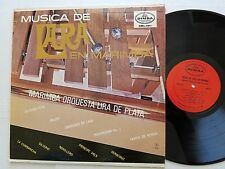 MARIMBA ORQUESTA LIRA de PLATA - Musica de Lara en Marimba 1969 LATIN Dimsa (LP)
