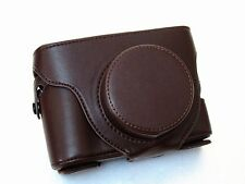 PU Leather Camera Case for  Fujifilm Fuji X100 & X100s Digital Cameras-Coffee