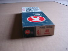 8 VINTAGE NOS AC DELCO 45 GREEN STRIP SPARK PLUGS IN THE OLD BOX 1559493