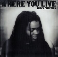 TRACY CHAPMAN : WHERE YOU LIVE / CD - TOP-ZUSTAND
