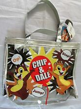 Disney Chip & Dale Clear Vinyl Tote Bag NWT  Rabbit Collection Rare