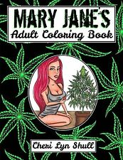 Mary Janes Adult Coloring Book