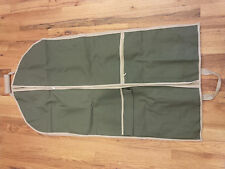 Household Essentials Travel Garment Suit Bag in Olive with strap 6757-1