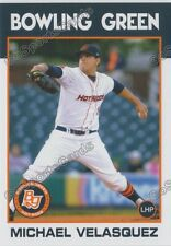 2016 Bowling Green Hot Rods Michael Velasquez RC Rookie Rays