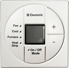 Dometic 3313194.000 Polar White Single Zone LCD T-stat  Cool/Furnace/Heat Strip