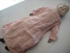 Old Vintage 1920's 1930's Doll 23 inches tall