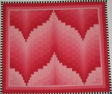 "~ NEW QUILT PATTERN ~ FLAMINGO BARGELLO QUILT / WALLHANGING ~ 20""X18"" ~"
