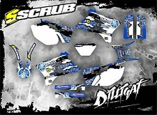 SCRUB Yamaha graphics decals kit WRf 250 450 2003-2004 stickers WR '03-'04