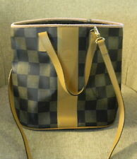 AUTHENTIC VINTAGE FENDI Checkered Bucket Bag - Shoulder/Handbag