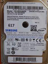 500GB Samsung HN-M500MBB   C7672-G12A-A588S   2011.12 #617