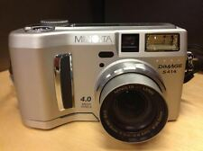 Konica Minolta DiMAGE S414 4.0 MP Digital Camera - Silver