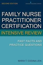 Family Nurse Practitioner Certification Intensive Review Second Edition
