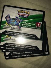 Pokemon TCG XY Fates Collide : VIRTUAL ONLINE CODE CARDs (Set of 2)