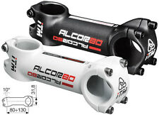 ITM ALCOR 80 OVERSIZE  31.8mm  HANDLEBAR STEM   WHITE 130mm