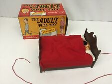 "Vintage ""Adult"" Pull Toy by THE A. FREED NOVELTY INC. 70's Gag Gift Humor"