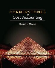 Available Titles CengageNOW Ser.: Cornerstones of Cost Accounting by Maryanne...