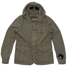 CP Company Giubbino foderato Watchviewer and Goggle Jacket In Khaki BNWT