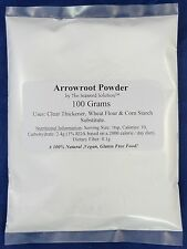 Arrowroot Powder / Starch / Flour - 100 grams