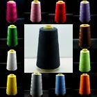 3000 Yards Each Spool Quality Overlocking Sewing Machine Polyester Thread Cones