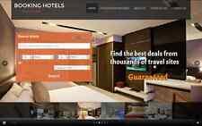 Nouvelle agence de voyages hotels site de commerce en ligne rentable site web + installation