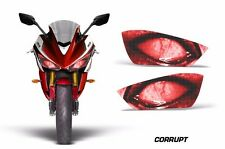 AMR Racing Head Light Eyes Yamaha R3 2015 Street Bike Headlight Parts CORRUPT R