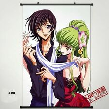 Code Geass Wall Poster Scroll Lelouch Vi Britannia Home Decor Anime 40x60cm