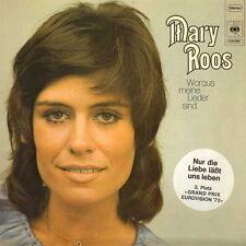 """12"""" LP Mary Roos Woraus meine Lieder sind (Hübsche Welt, Lied des Regens) NM"""