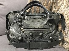 Authentic BALENCIAGA S/S 2008 Anthracite City with Covered Hardware
