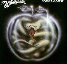 "WHITESNAKE ""COME AND GET IT"" CD REMASTERED NEUWARE"