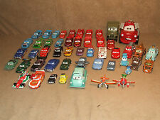 Disney Pixar Cars Mostly Diecast Bundle Of 50 Vehicles