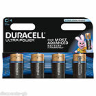 4 X Duracell 'C' Ultra Power Alkaline MX1400 1.5v LR14 C size batteries - 4 pack