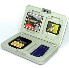 Matin MULTI MEMORY CARDS CF SD xD MS SM CASE COVER /SILVER FOR CANON NIKON SONY