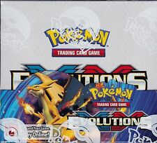 Pokemon Evolutions XY sealed unopened booster box 36 packs of 10 cards