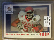 2009 Topps Magic All Americans #AA24 Darren McFadden : Arkansas Razorbacks