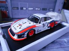PORSCHE 935 Turbo Langheck Moby Dick Martini Silverstone Winner Spark 1:18